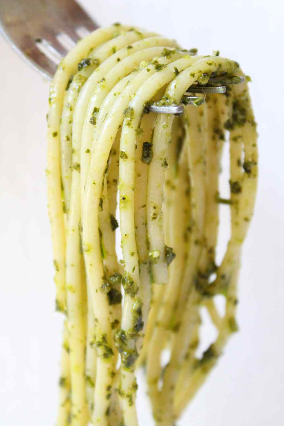 ligurian pesto with spaghetti :: story of a kitchen | story of a ...