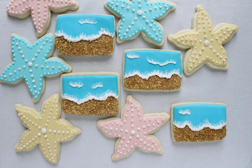 Beach Sugar Cookies Recipe Story Of A Kitchen