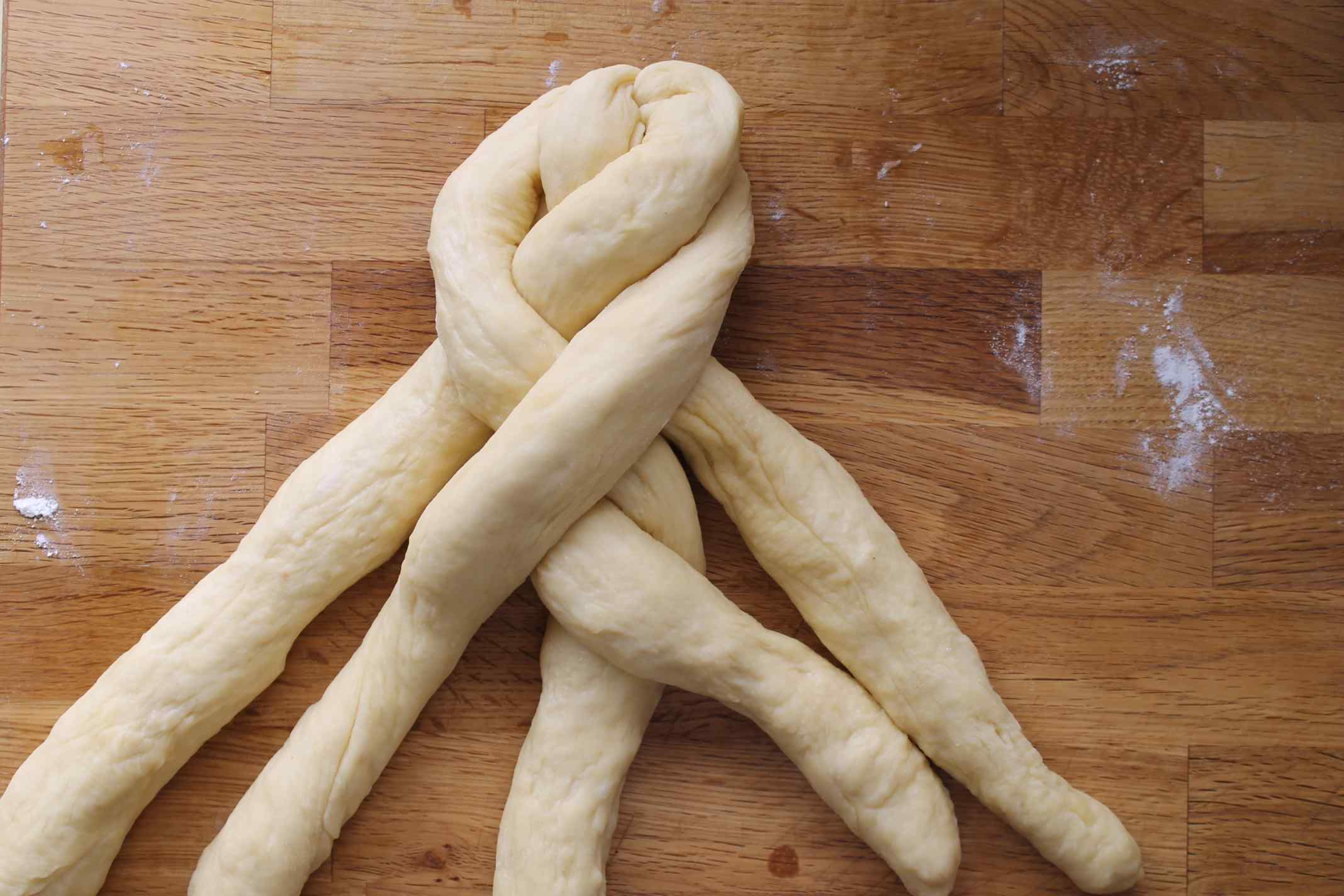 How-to: Six-Strand Braided Challah | Artisan Bread in Five Minutes a ...