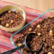 chocolate-cherry buckwheat granola recipe