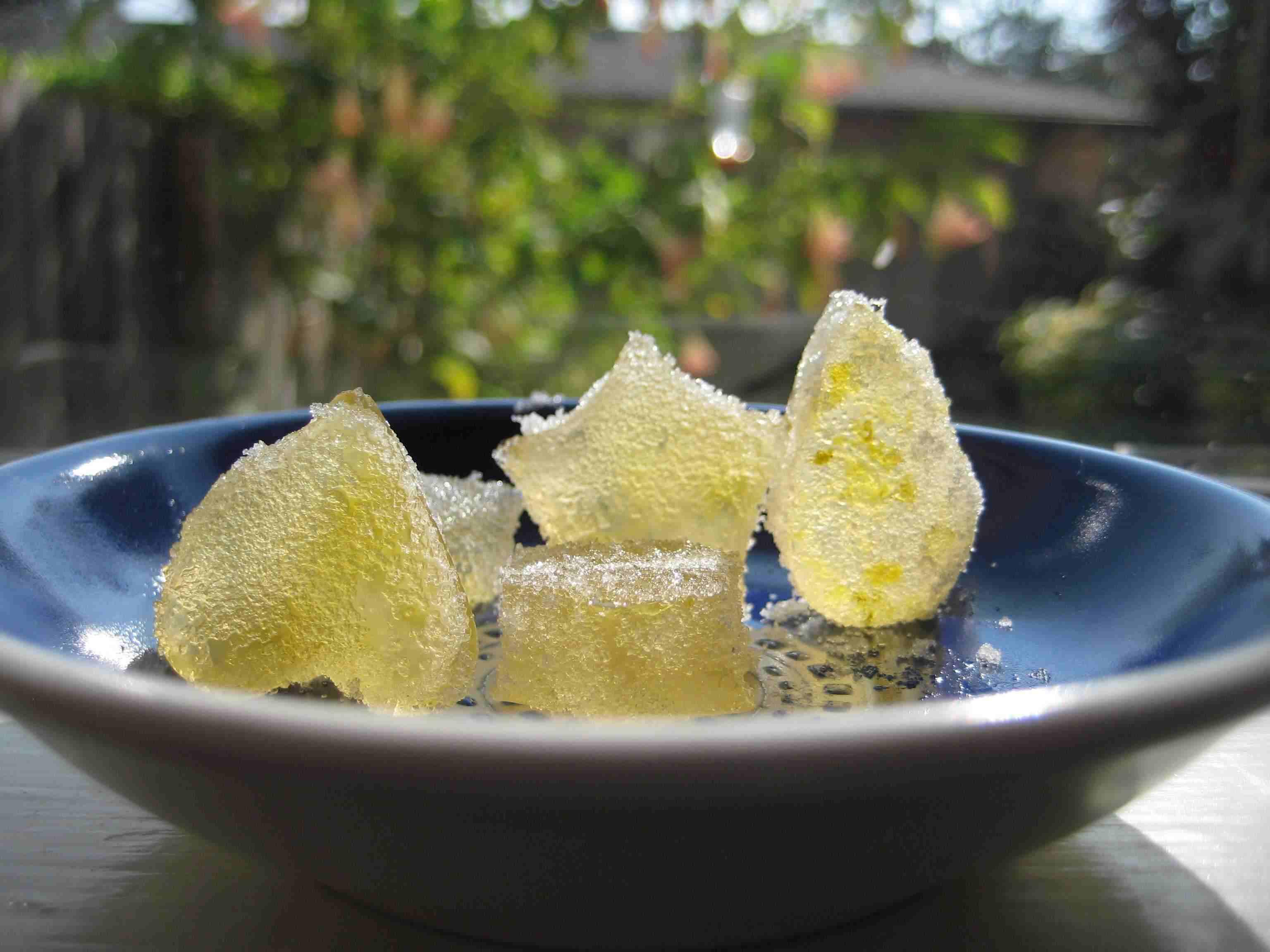 lemon-lime gummy candy