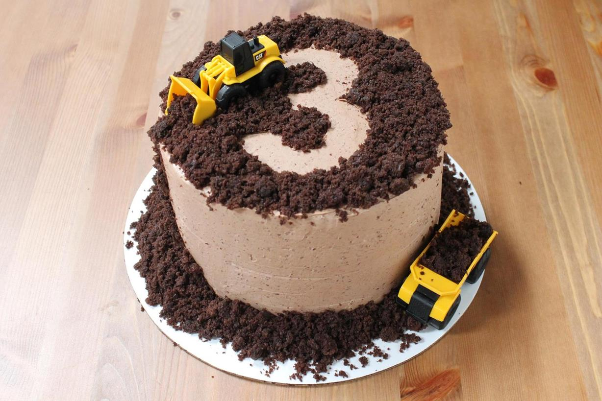 Astounding A Construction Themed Birthday Menu Mango And Chocolate Swiss Personalised Birthday Cards Veneteletsinfo