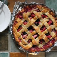 bluebarb (blueberry-rhubarb) pie recipe