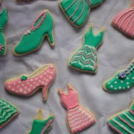 dress and shoe sugar cookies recipe — and gender politics