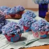 hydrangea cupcakes recipe — and stupid things I've said