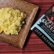 orange omelette for harlots and ruffians recipe — and a book trilogy review!
