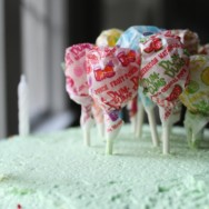 vanilla cake with pandan frosting recipe — birthday for a six-year-old