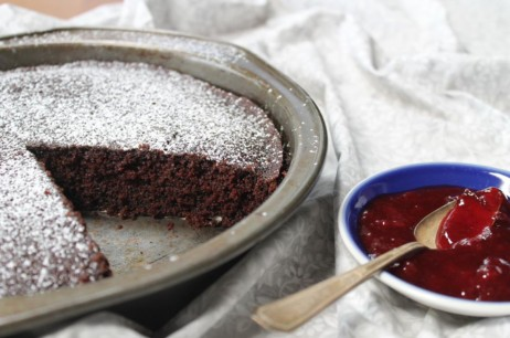 margaret fox's vegan chocolate cake recipe