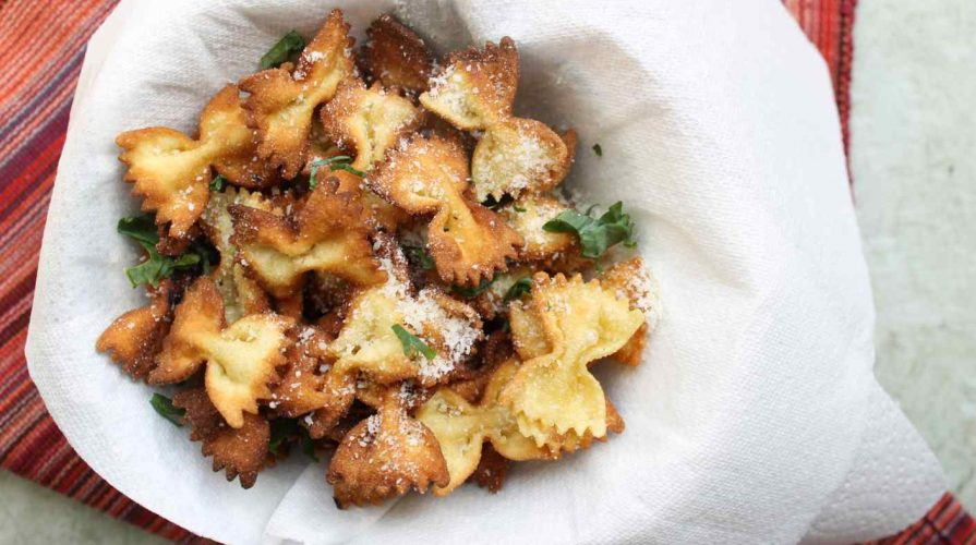 Fried Pasta Chips Recipe And The Election Story Of A