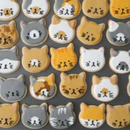 kitty sugar cookies recipe — and a birthday for a nine year old!