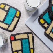 mondrian-inspired sugar cookies recipe