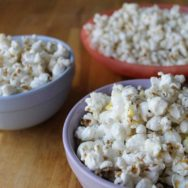 brown butter + rosemary + lemon + popcorn