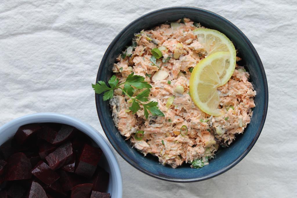 salmon-beet-salad
