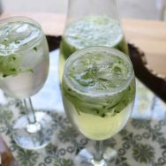 sharbat-e sekanjabin (persian sweet and sour mint and cucumber drink) recipe