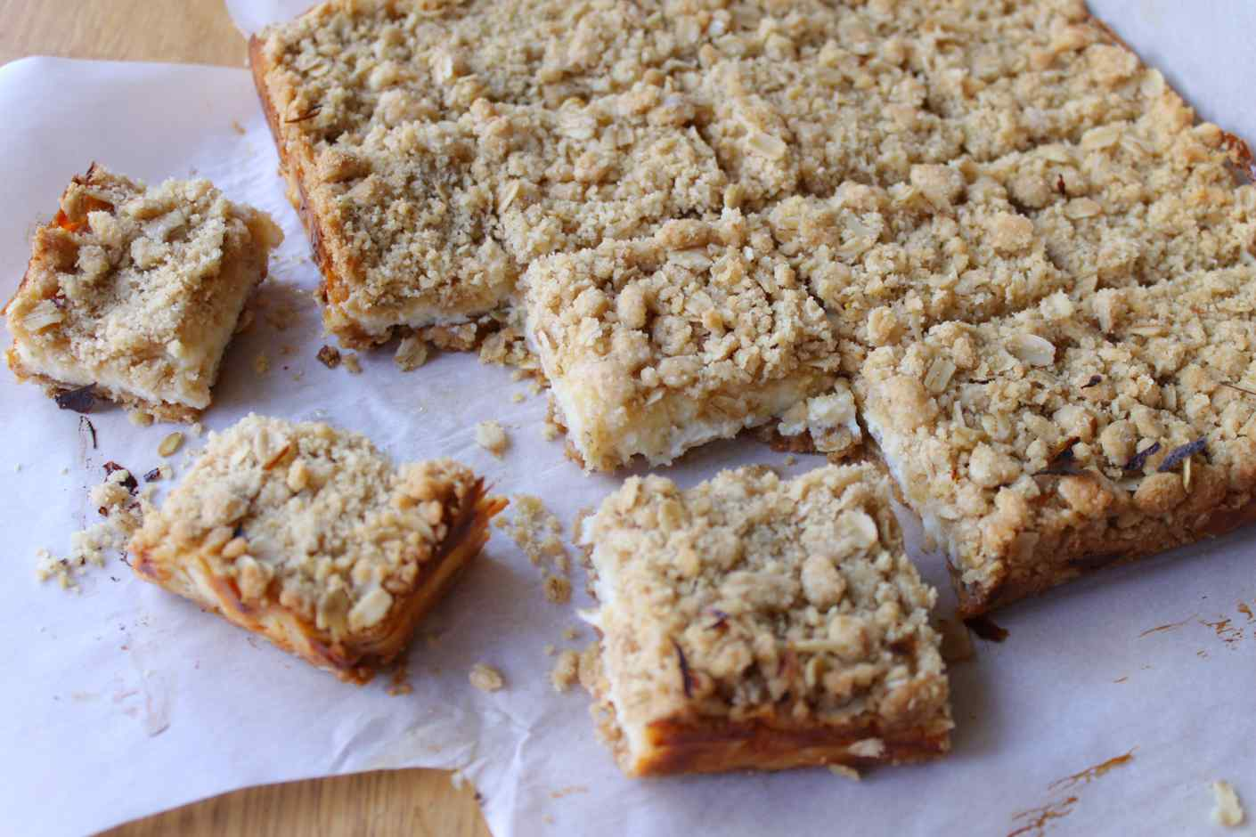 creamy lime oatmeal bars recipe :: story of a kitchen | story of a ...