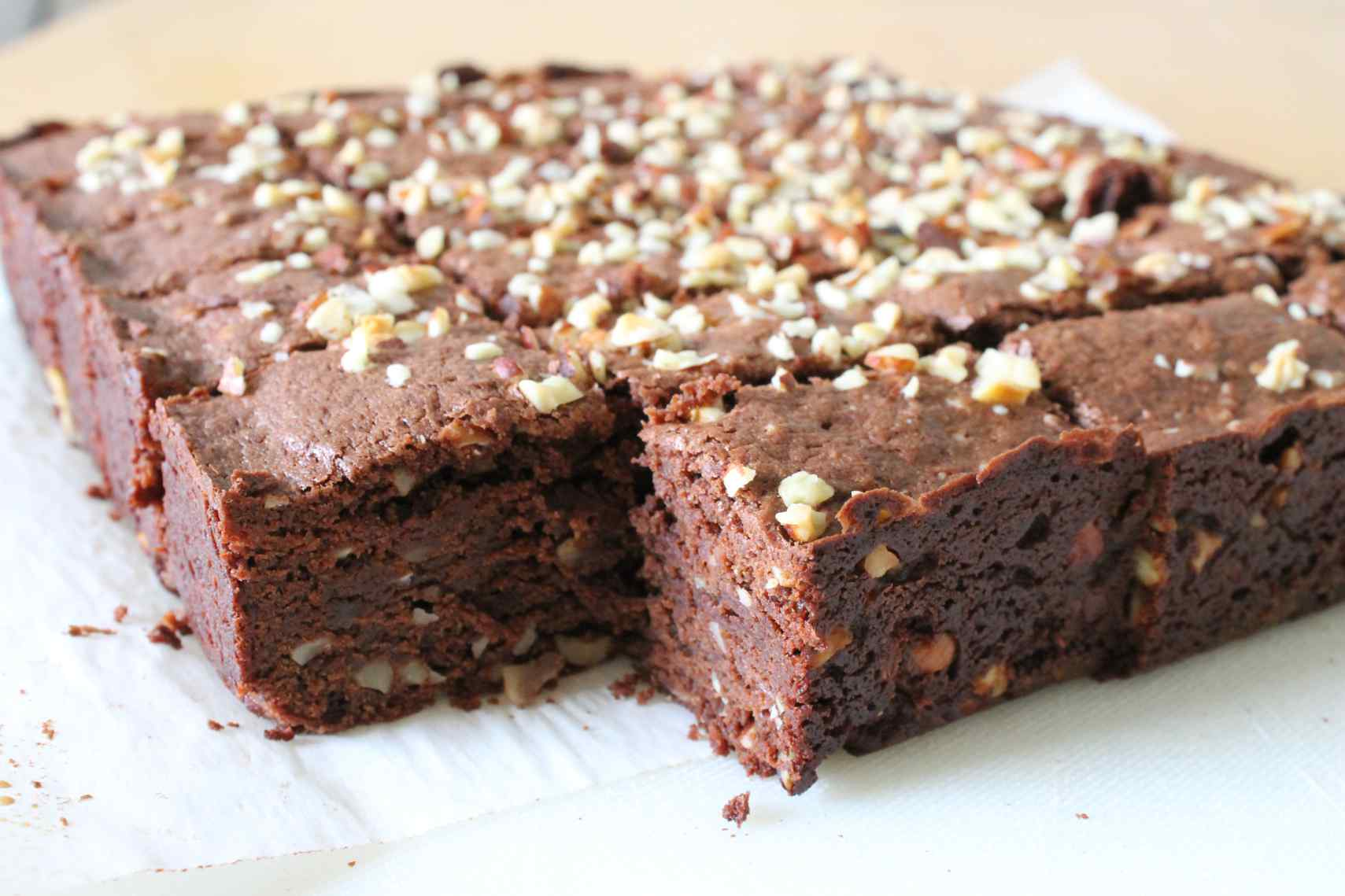 sour cream hazelnut brownies :: story of a kitchen