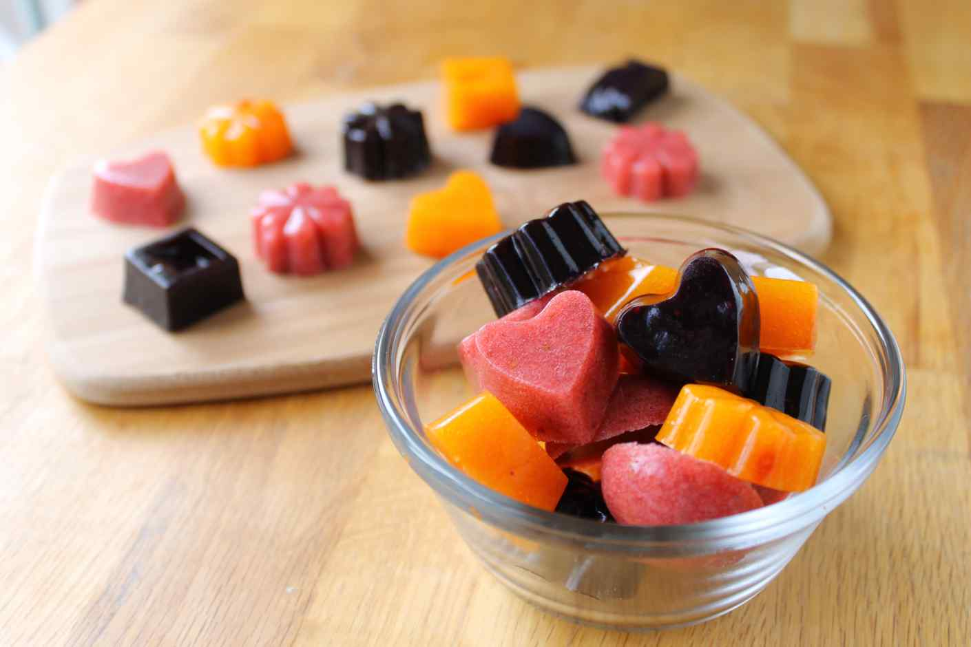 homemade chewy fruit snacks recipe