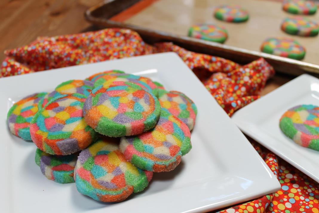 confetti cookies recipe :: story of a kitchen | story of a kitchen