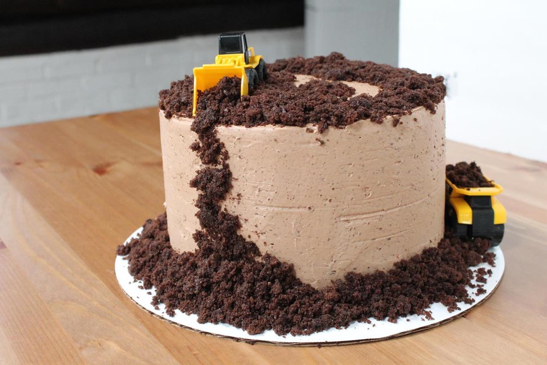 Construction Dirt Cake Recipe