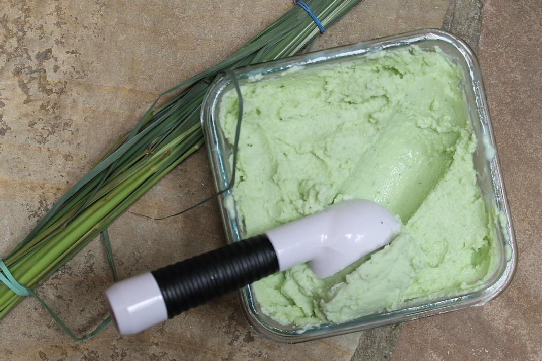 lemongrass-basil-sherbet