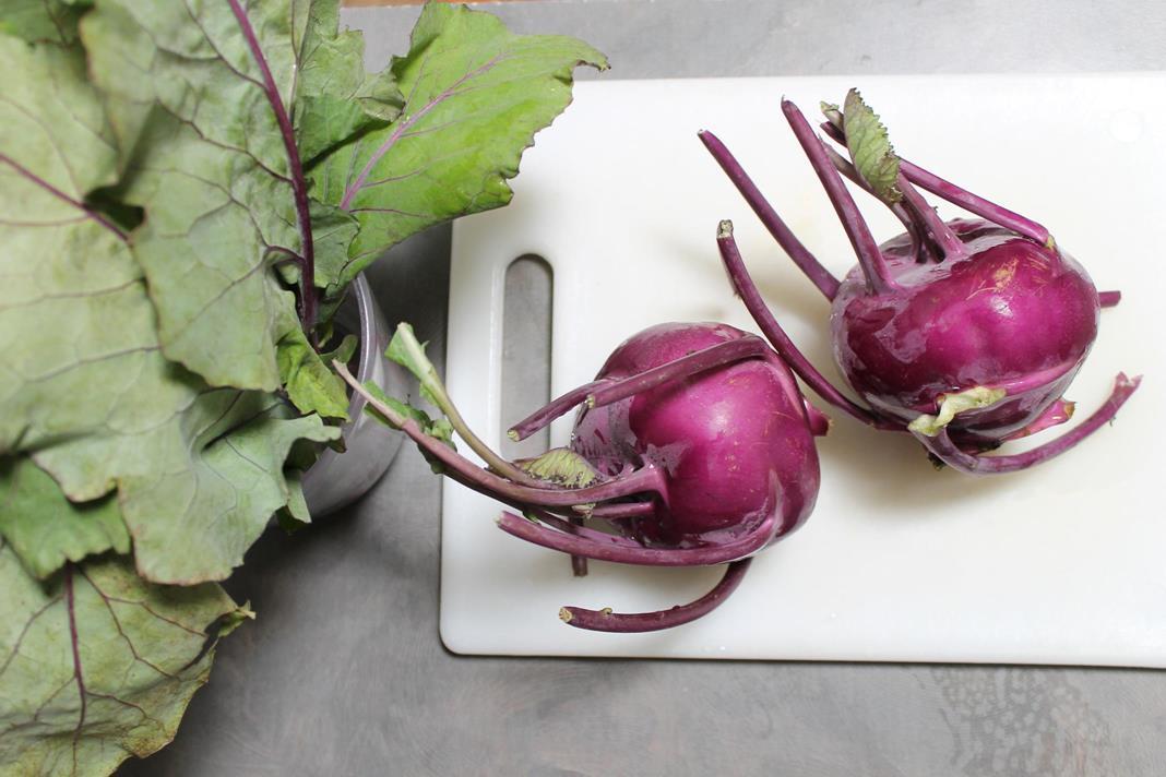 kohlrabi chips recipe :: story of a kitchen | story of a kitchen