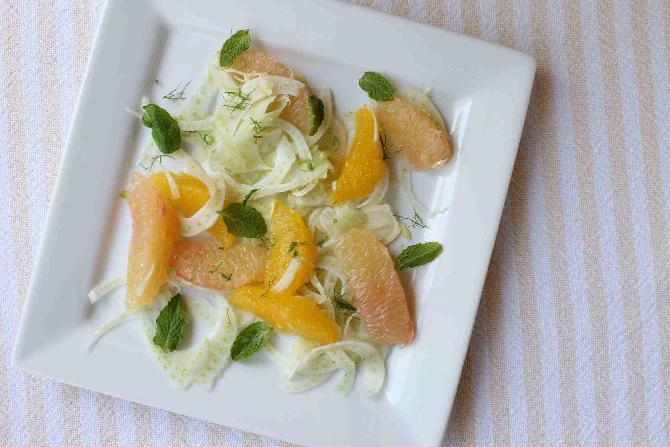 fennel-citrus-mint