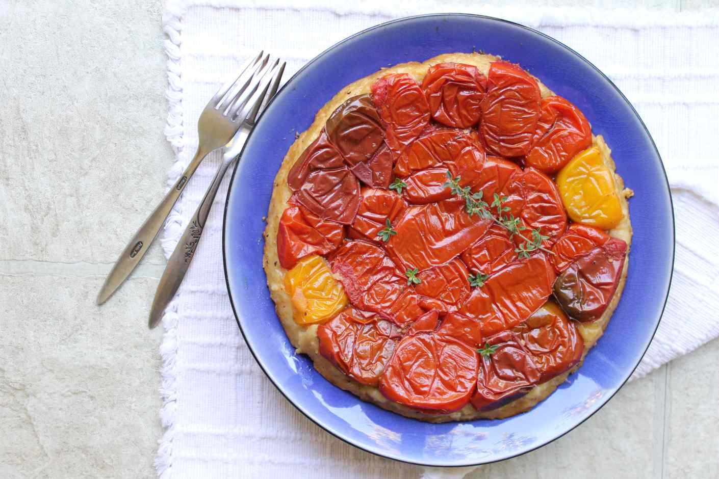 tomato-tatin